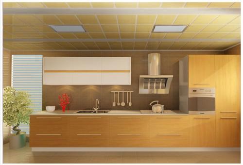 厨房集成吊顶样子-厨房铝扣板吊顶厂家之厨房铝扣板吊顶怎么样