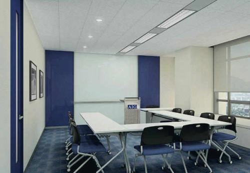 办公室铝扣板尺寸-办公室用铝天花吊顶好不好