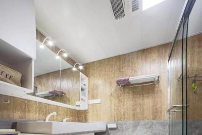 卫生间铝扣板怎么样选择-卫生间铝扣板吊顶厂家讲讲卫生间装什么灯好看