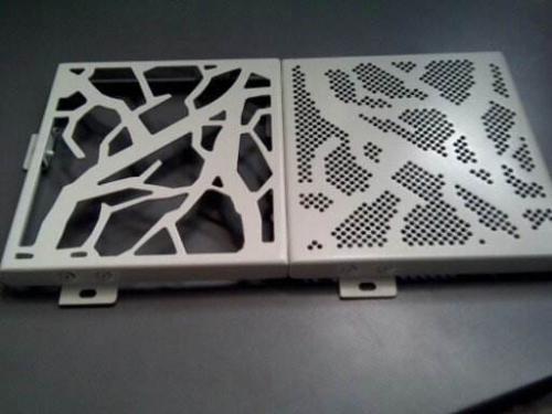 雕刻铝扣板-江门铝扣板厂家分享装修妙招