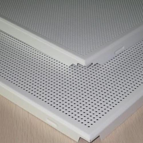 隔音铝扣板-听穿孔铝扣板厂家讲讲