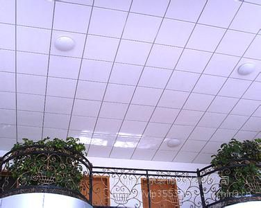 白色铝扣板吊顶-大厅铝扣板吊顶效果图这样装