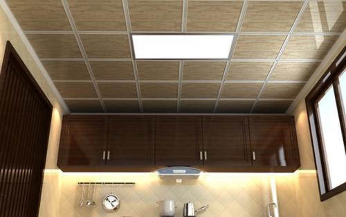 造型厨房集成吊顶-厨房铝扣板吊顶装饰注意什么