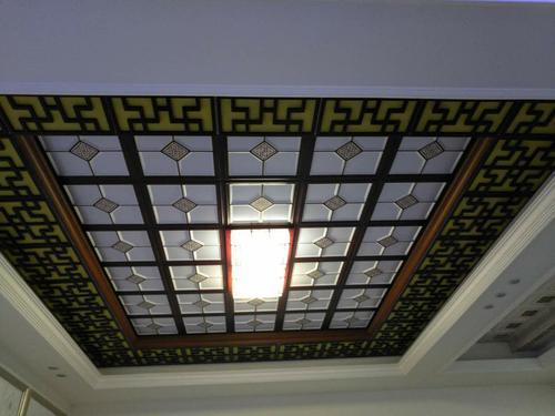 客厅餐厅集成吊顶图片-为什么说集成吊顶适合家庭装修
