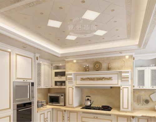 简单客厅铝扣板吊顶图片-客厅铝扣板吊顶厂家给你介绍