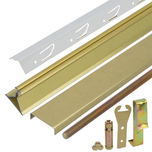 铝扣板收口条-跟着卫生间铝扣板吊顶厂家一起来做笔记