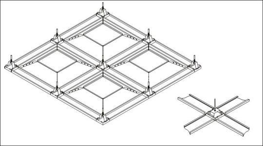 集成吊顶多大规格-怎么装铝扣板集成吊顶