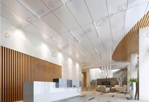 办公铝扣板天花-工程铝扣板批发厂家之办公室铝天花吊顶好看吗