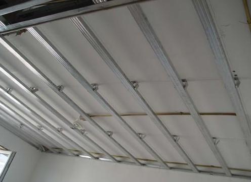 铝扣板吊顶厂的电话-铝扣板吊顶下吊多少
