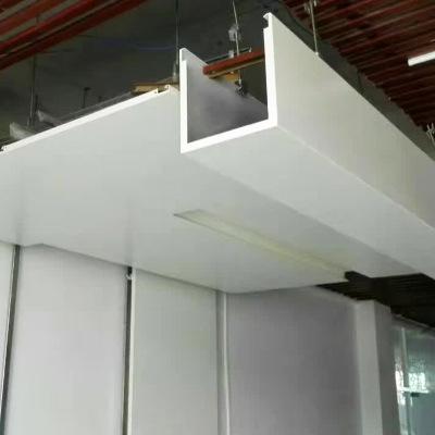铝扣板吊顶工程-商场铝扣板吊顶