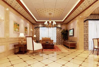 客厅铝扣板效果图-带效果图来打破你想象