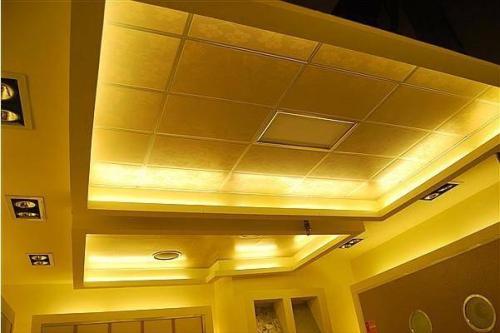 厨房卫生间集成吊顶效果图-铝扣板集成吊顶效果图