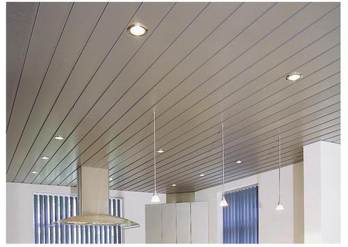 铝扣板吊顶长条形图片-美利龙教你拆卸卫生间铝扣板吊顶