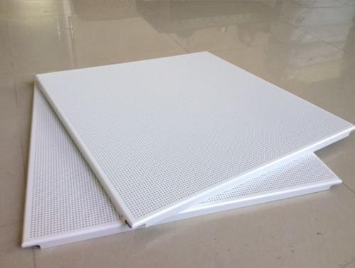 吊顶铝扣板600规格-工程专用600*600铝扣板吊顶效果图