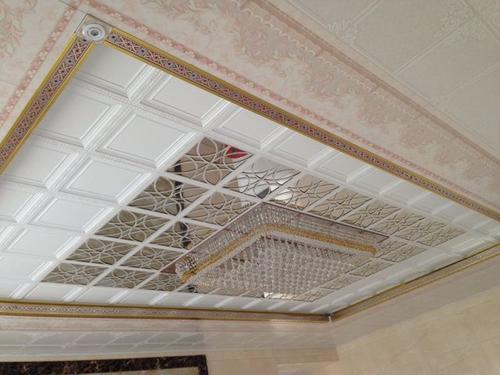 欧式艺术集成吊顶-简欧式铝扣板吊顶效果图好看吗