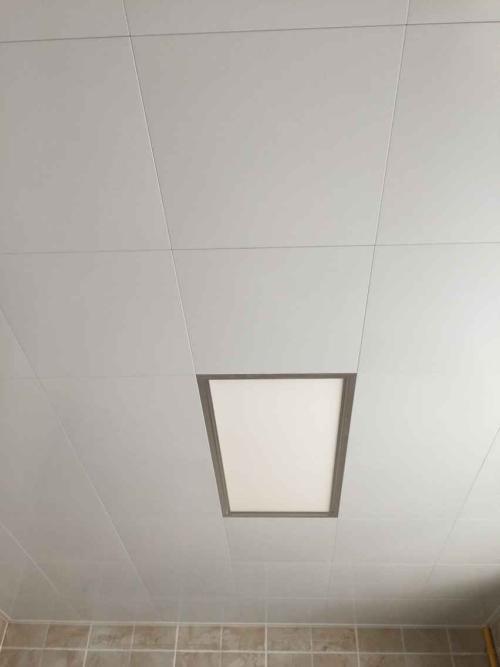 纯白铝扣板吊顶-铝扣板吊顶颜色怎么选