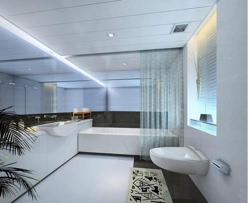 现代风格铝扣板吊顶-佛山铝扣板吊顶厂家之2020时兴客厅吊顶有哪些
