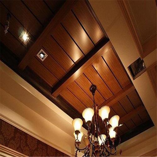 仿生态铝扣板-阳台吊顶用生态木还是铝扣板