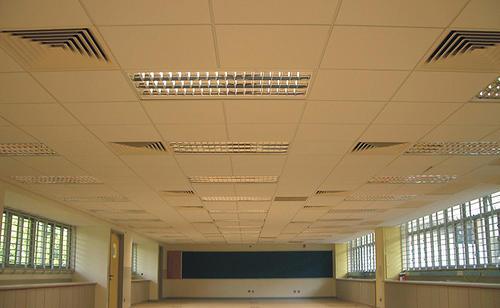 西安集成铝扣板批发-石膏板和铝扣板集成吊顶怎么选