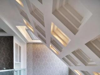 铝扣板吊顶造型效果图-客厅铝扣板吊顶厂家一一给你们介绍