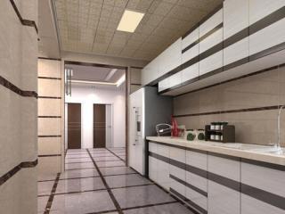 客厅大厅铝扣板吊顶效果图-铝扣板集成吊顶效果图
