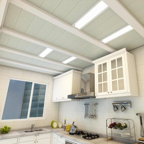 美式阳台铝扣板吊顶-阳台铝扣板样式-新中式阳台铝扣板