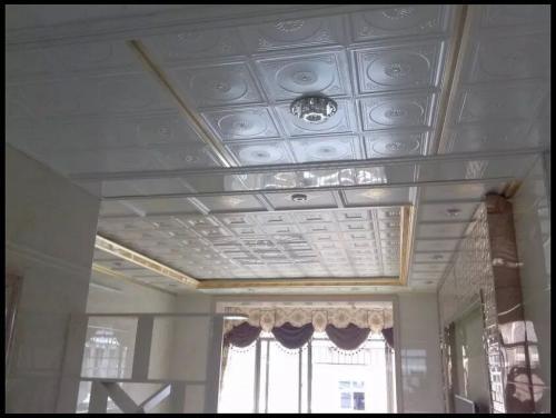 大客厅铝扣板吊顶图片-铝扣板客厅图片大全-简单客厅铝扣板吊顶图片大全