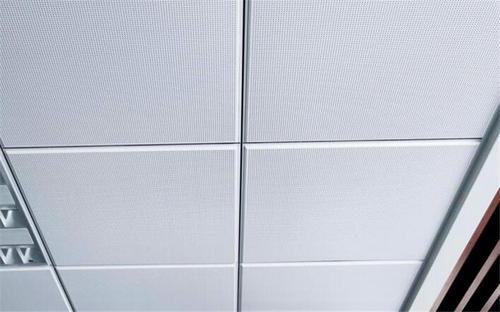 600铝扣板效果图-客厅铝扣板600*600效果图-600*600铝扣板天花效果图