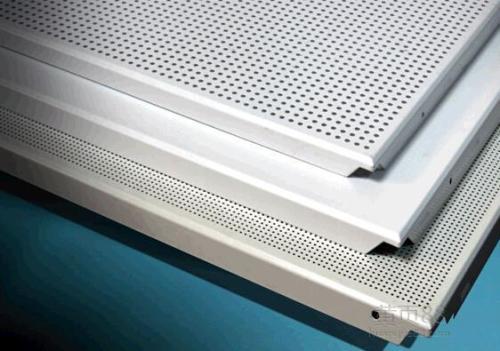 高边铝扣板外斜-斜边银线铝扣板-斜角边铝扣板