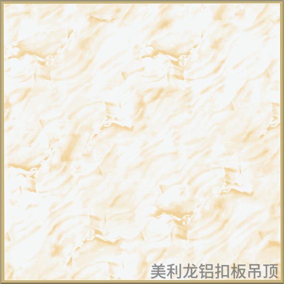 金框黄缅甸玉彩涂走廊通道铝扣板