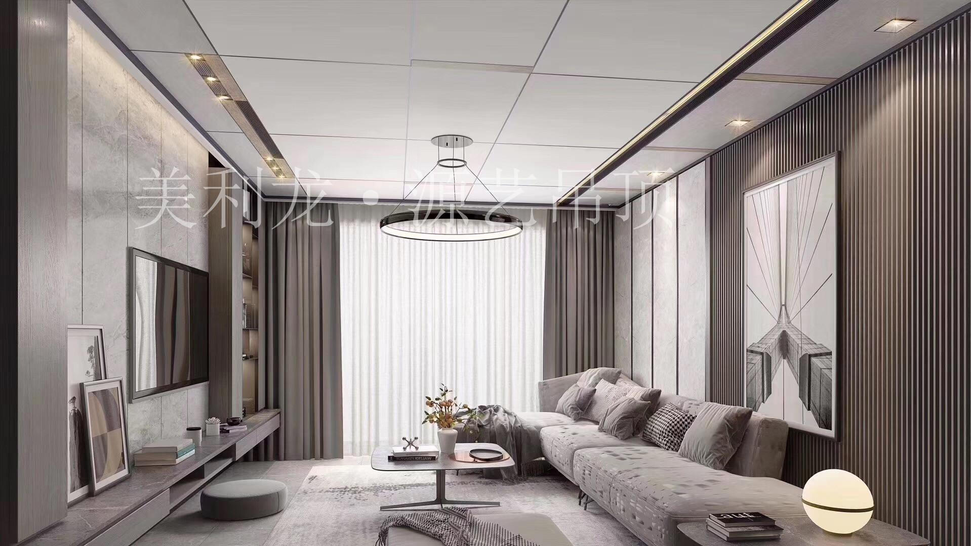 家里用铝蜂窝板这样做吊顶,没想到效果竟然这么好!
