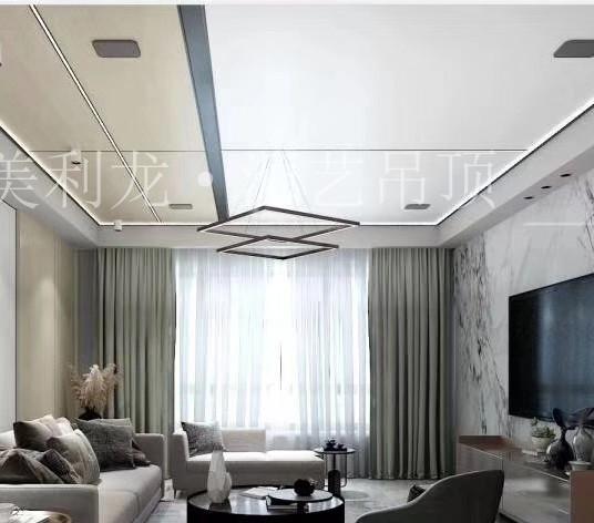新式铝蜂窝板吊顶天花案例!快来看看家里怎么装好看