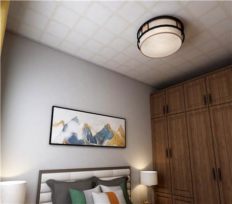 五种卧室铝扣板吊顶效果图,看完再装也不完!