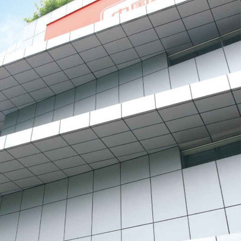 铝单板幕墙效果图