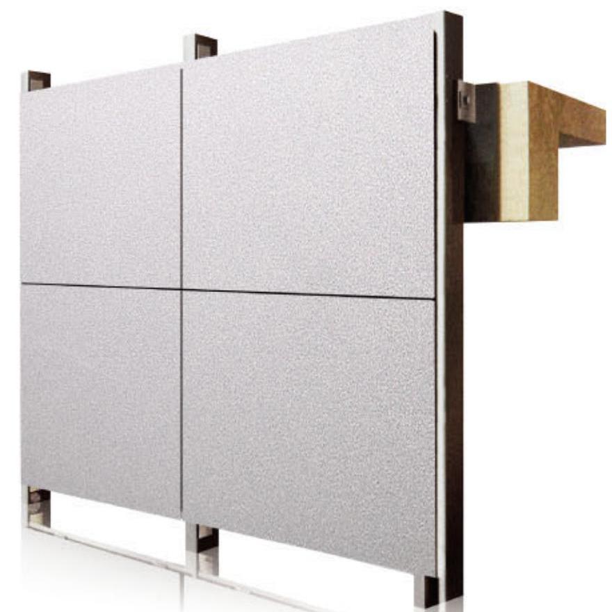 铝单板效果图