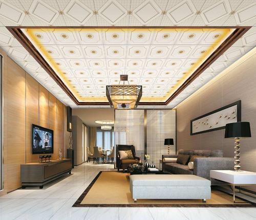铝扣板吊顶薄-吊顶装中央空调的高度