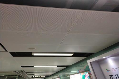 铝扣板吊顶款式-铝扣板集成吊顶效果图