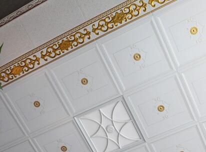 厨房铝扣板吊顶实景图-铝扣板集成吊顶效果图