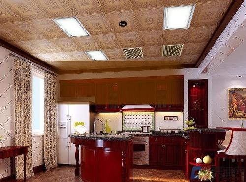 集成吊顶和铝扣板图片-铝扣板吊顶安装施工方式