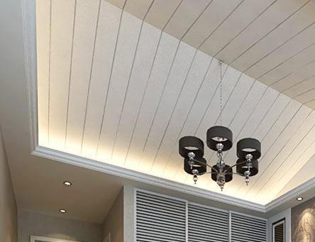 铝扣板家装墙面图片-阳台是否装吊顶
