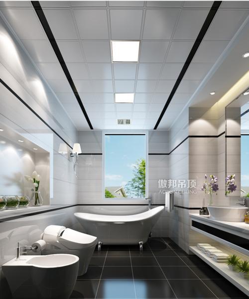 现代简约铝扣板-客厅铝扣板吊顶什么风格最好看