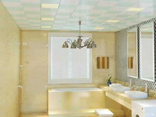 卫生间吊顶铝扣板-卫生间吊顶的这些事