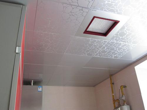 中板集成吊顶图片-卫生间铝扣板吊顶图片大放送