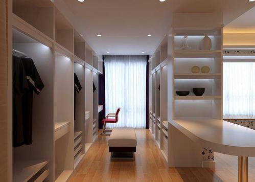 现代简约铝扣板-大厅铝扣板吊顶效果图这样装