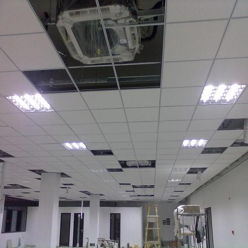 吊顶材料铝扣板图片-客厅铝扣板吊顶厂家给你介绍
