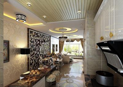 铝扣板餐厅吊顶-跟着厨房铝扣板吊顶厂家看看吧