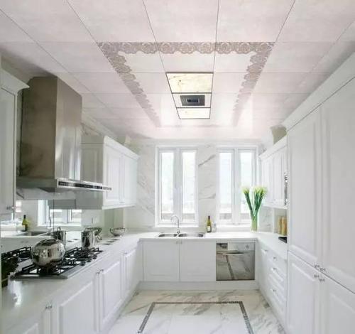 厨房墙面白色铝扣板吊顶用什么颜色-看看厨房吊顶颜色要怎么选