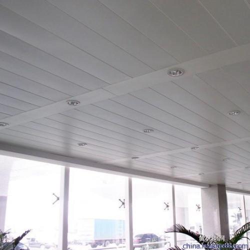 长条铝扣板品牌-品牌商城铝扣板工程案例效果图