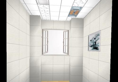 二级集成吊顶效果图-带铝扣板一级吊顶效果图来参赛