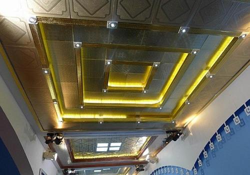 卫生间吊顶铝扣板价格-卫生间铝扣板吊顶厂家